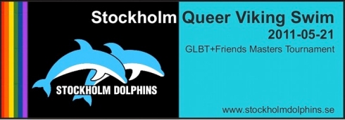 """Stockholm Dolphins"", ""Queer Viking Swim"", ""gay stockholm"""