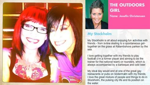 Stockholm's Leadin Ladies, winner, Lorna Haddon-McMillan