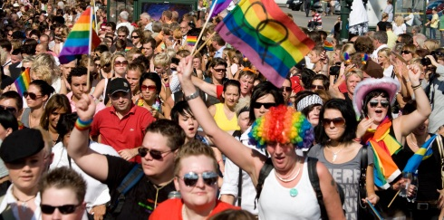 Stockholm Pride, Pride Parade, Stockholm, Royal Palace