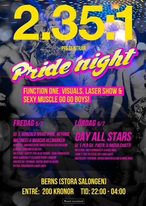 Berns hotel Stockholm, pride, gay friendly hotel
